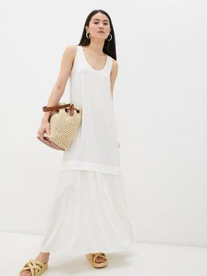 Белое платье Twinset Milano
