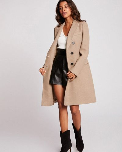 Бежевое пальто Morgan
