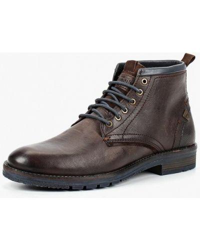 Ботинки осенние кожаные португальские Wrangler