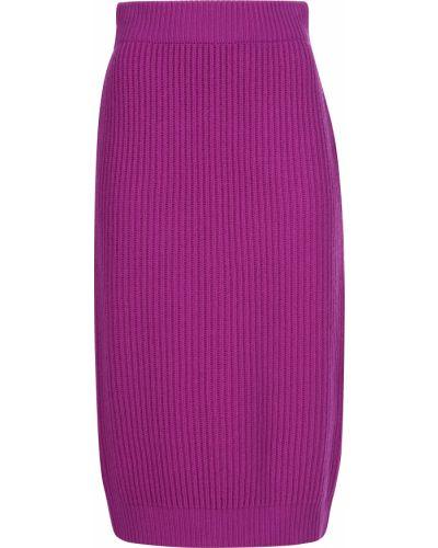 Шерстяная юбка - фиолетовая Marc Jacobs