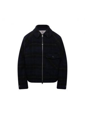 Синяя куртка из полиэстера Woolrich