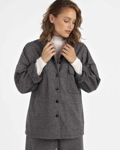Шерстяной пиджак - белый Unq