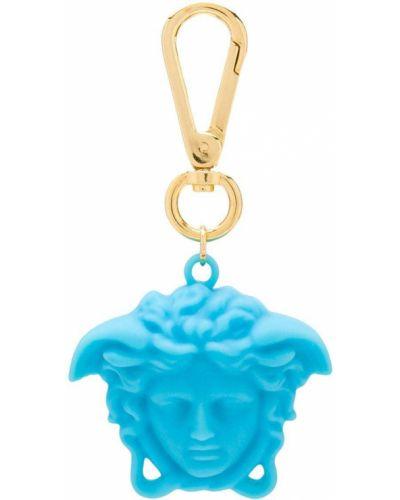 Синий брелок металлический на крючках Young Versace