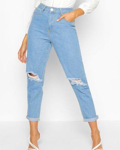Зауженные джинсы - голубые Boohoo