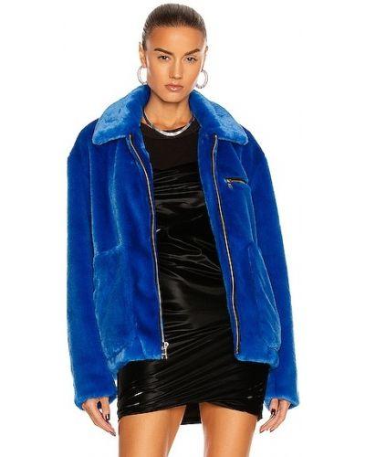Синяя куртка с карманами Rta
