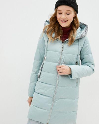 Бирюзовая утепленная куртка Purelife
