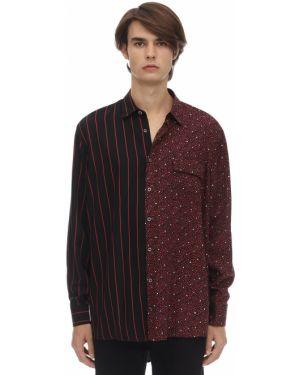 Koszula bawełniana w paski oversize Danilo Paura