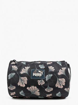 Черная спортивная спортивная сумка Puma