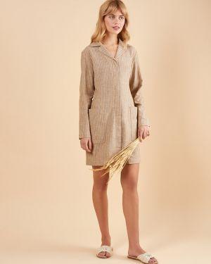 Платье мини с карманами 12storeez