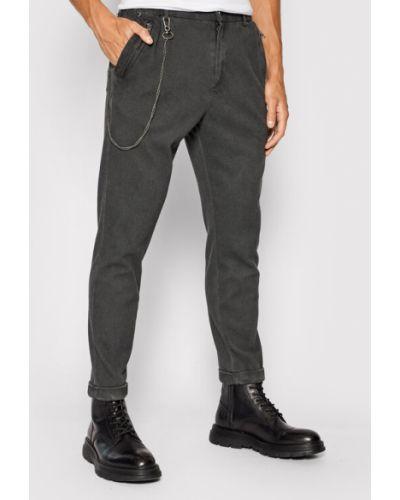 Szare spodnie materiałowe Tigha
