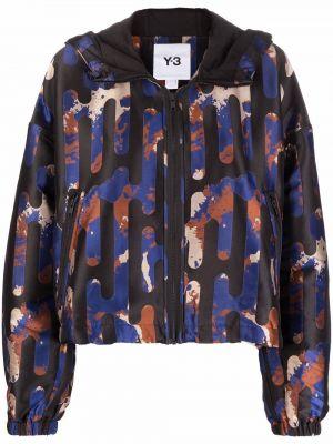Синяя куртка из полиамида Y-3