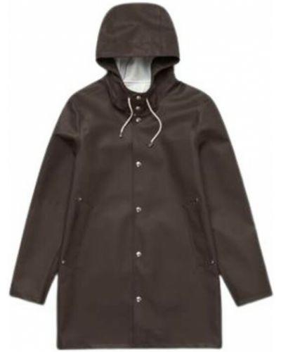Brązowy płaszcz przeciwdeszczowy Stutterheim