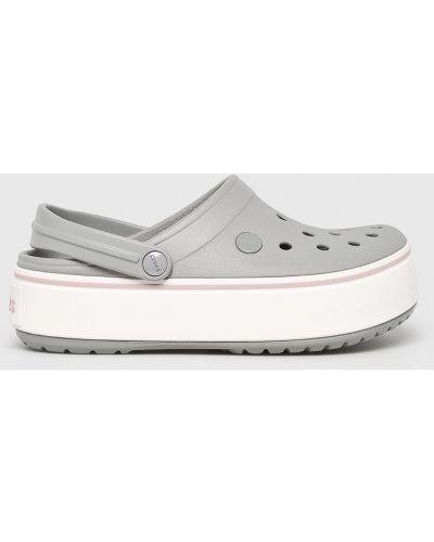 Сабо на платформе на танкетке на каблуке Crocs