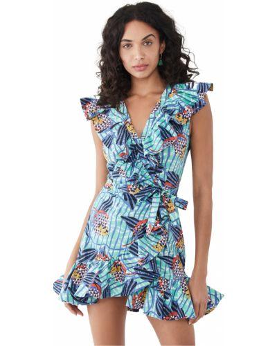 Хлопковое платье с декольте стрейч Stella Jean