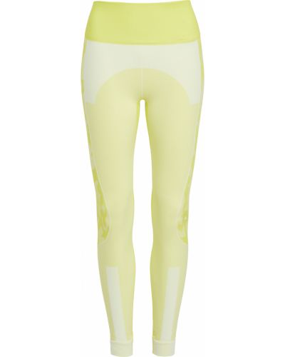 Компрессионные белые леггинсы для йоги Adidas By Stella Mccartney