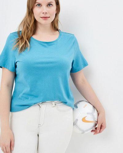 Синяя футбольная футболка Rosa Thea