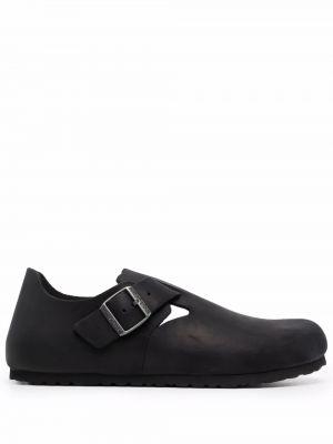 Черные резиновые туфли Birkenstock