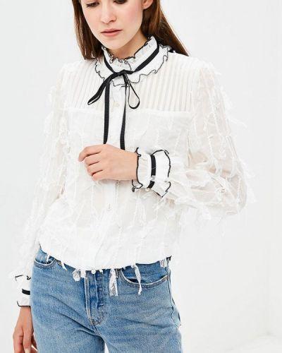 Белая блузка с рюшами Sister Jane