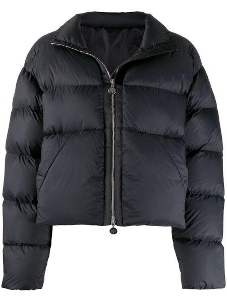 Стеганая с рукавами черная стеганая куртка Ienki Ienki