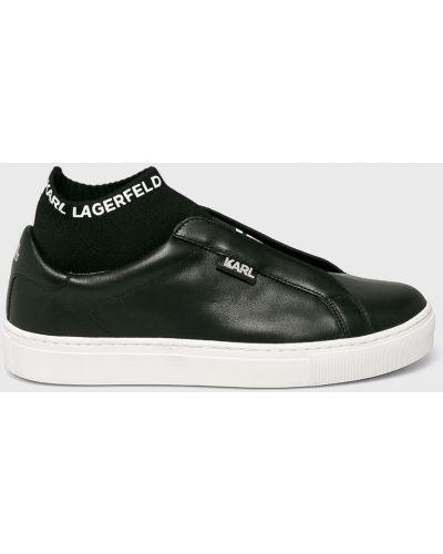 Кроссовки текстильные черный Karl Lagerfeld