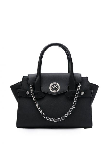 Черная сумка на цепочке круглая Michael Michael Kors
