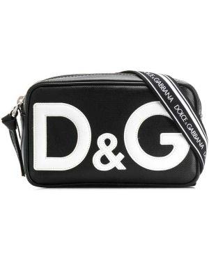 Сумка поясной черный Dolce & Gabbana Kids