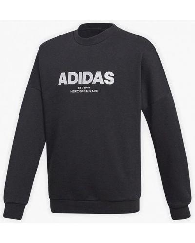 Свитшот черный Adidas