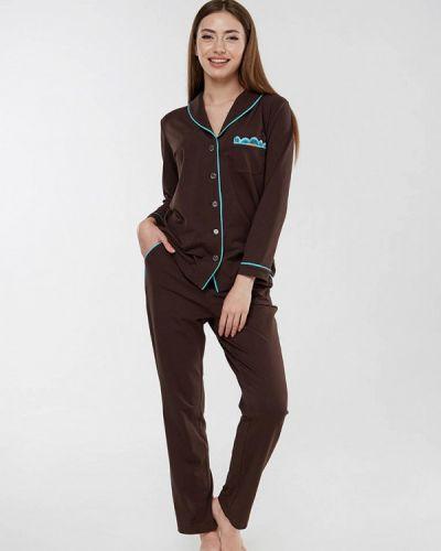 Пижама - коричневая Ora
