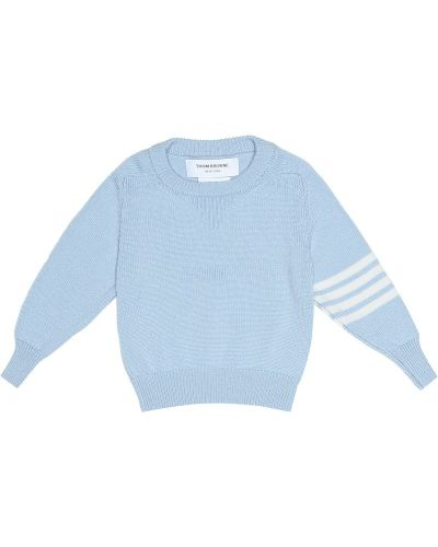 Синий свитер Thom Browne Kids