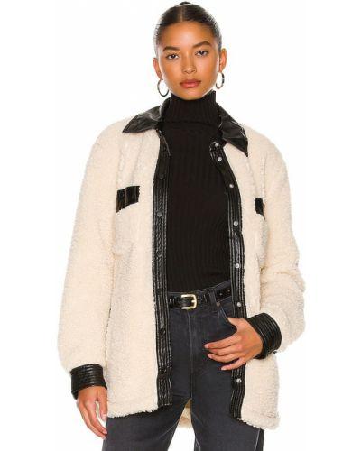 Кожаная куртка из искусственного меха [blanknyc]