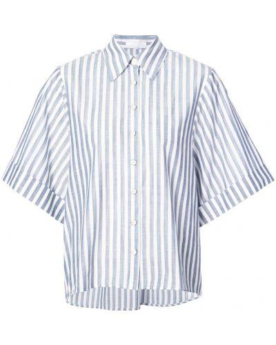 Рубашка в полоску хлопковая Caroline Constas