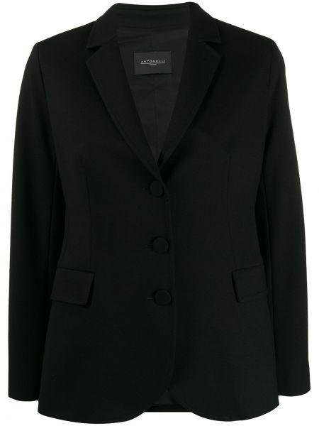 Прямой классический пиджак с карманами Antonelli