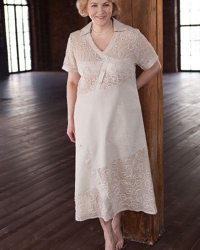 Летнее платье на пуговицах из вискозы D`imma Fashion Studio