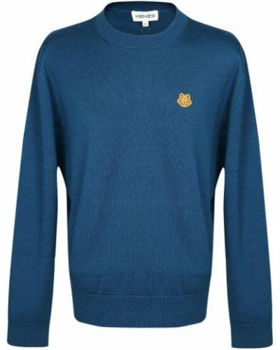 Sweter - niebieski Kenzo