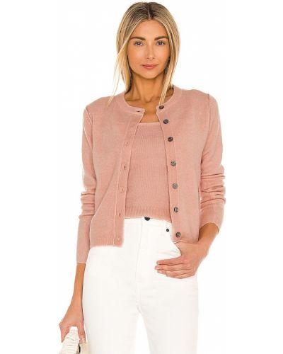 Акриловый розовый свитер винтажный Line & Dot