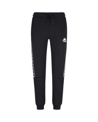 Прямые черные брюки Kappa