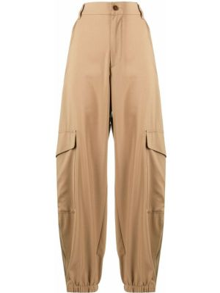 Брюки с завышенной талией брюки-хулиганы дудочки Barena
