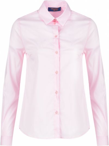 Розовая блузка Trussardi Jeans