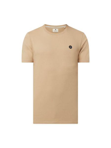 Brązowy t-shirt bawełniany Anerkjendt