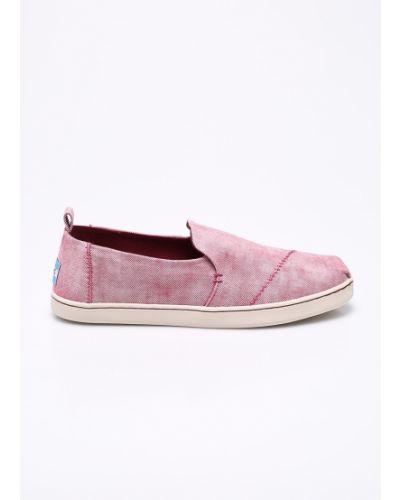 Розовые эспадрильи Toms