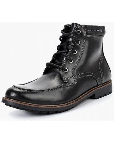 Ботинки осенние высокие замшевые Clarks