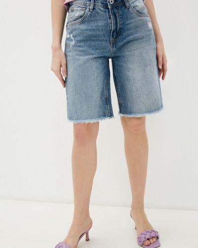 Джинсовые шорты - голубые Pepe Jeans