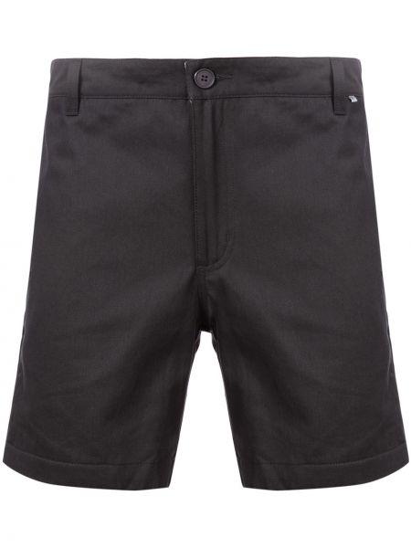 Czarne krótkie szorty z paskiem bawełniane Dickies Construct