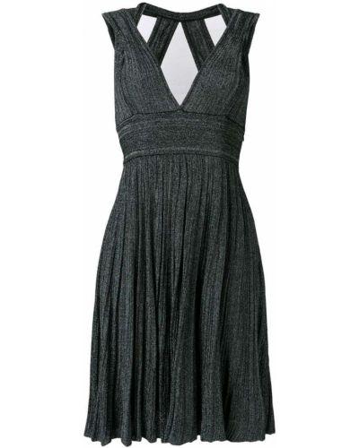 Платье с поясом трикотажное со вставками Antonino Valenti