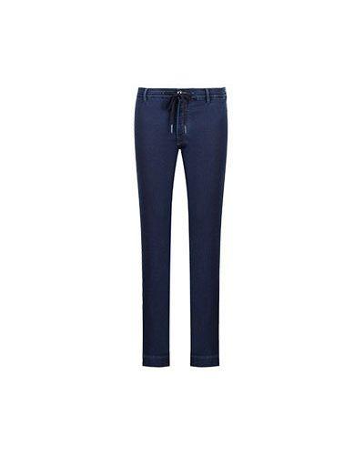 Синие зауженные джинсы-скинни Jacob Cohen