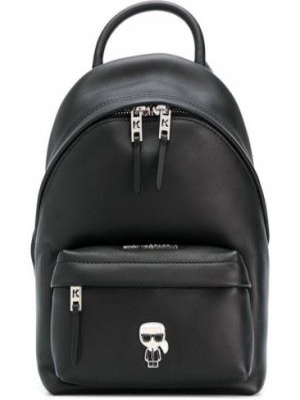 Черная сумка круглая Karl Lagerfeld