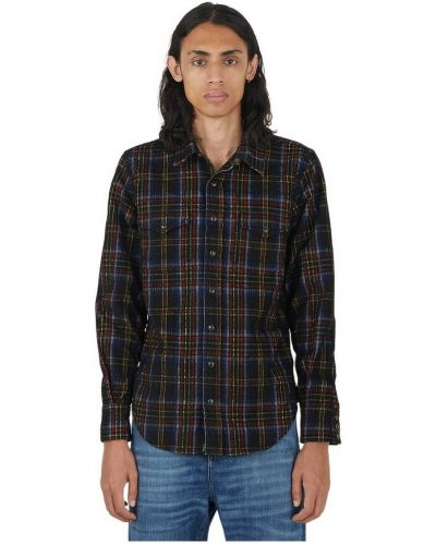 Klasyczna koszula - czarna Saint Laurent