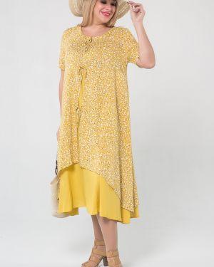 Летнее платье платье-сарафан из вискозы Luxury