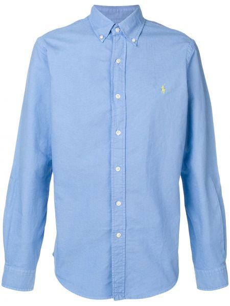 Klasyczny koszula z kołnierzem z logo Ralph Lauren
