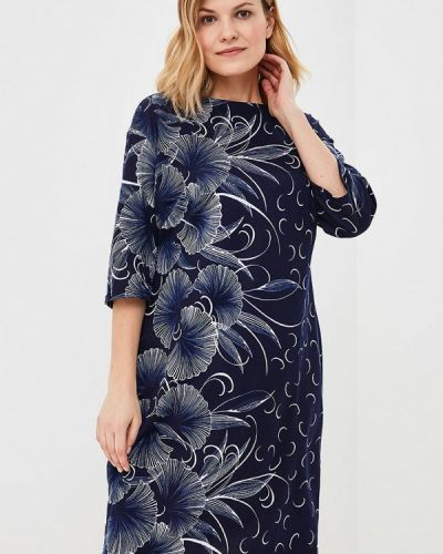 Платье синее Olsi